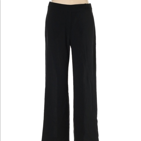 MaxMara Black Wool Dress Pants Size 8